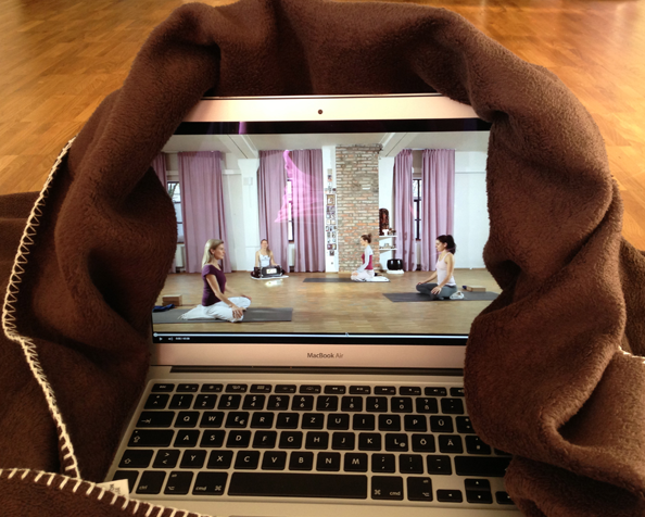 Online-Yoga: Tag 4