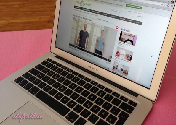 Online-Yoga: Tag 1