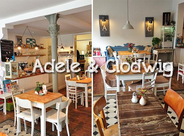 Café Adele und Clodwig in Hamburg-Ottensen