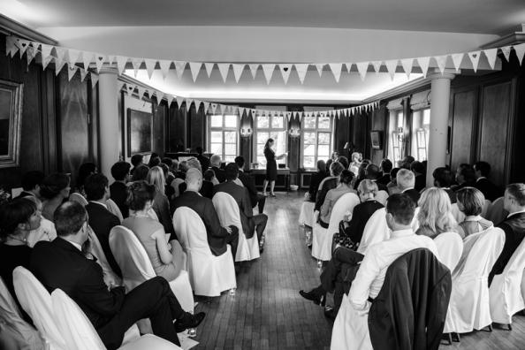 Hochzeit Freie Trauung Clubzimmer