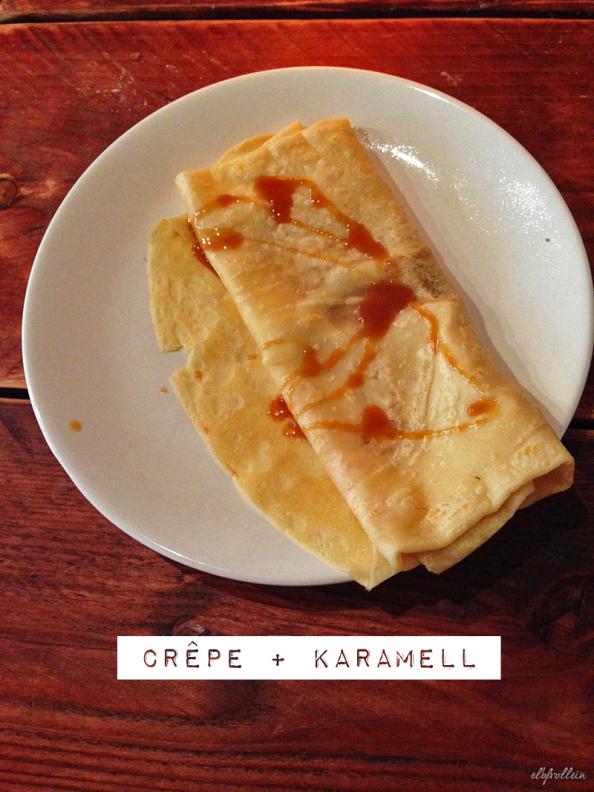 Plattenladen Crepe Karamell