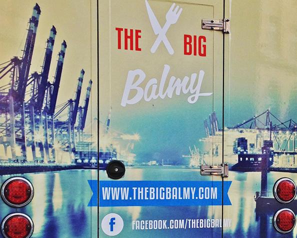 The Big Balmy: der Burger-Truck grillt sich durchHamburg