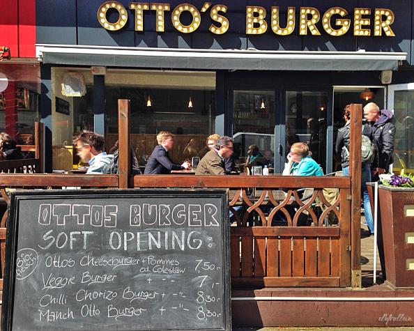 Auf Otto und das Beefsteak: Otto's Burger in St.Georg