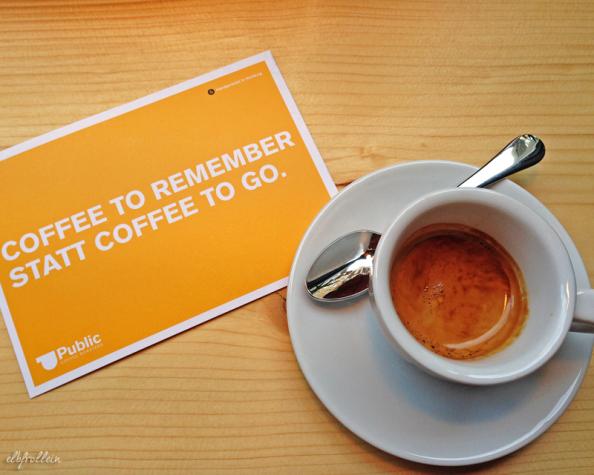 Zu viel des Süßen. Coffee to remember bei den Public Coffee Roasters in derNeustadt