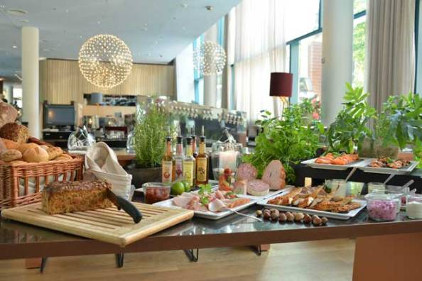 Julbord schwedisches Weihnachtsbuffet